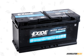 EXIDE 105Ah Start-Stop AGM