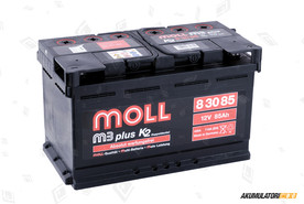 MOLL 85Ah M3 plus K2 double lid