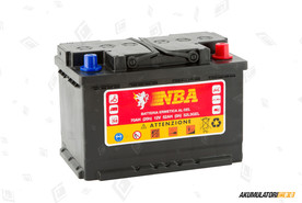 NBA Batterie 70Ah GEL