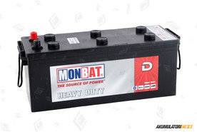 Monbat 140Ah Dynamic Heavy Duty