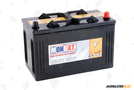 Monbat 120Ah Dynamic Heavy Duty