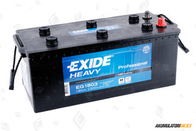 EXIDE 180Ah HD Professional Power