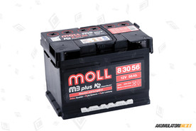 MOLL 56Ah M3 plus K2 double lid
