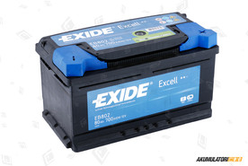 EXIDE 80Ah Excell