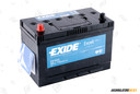 EXIDE 100Ah Excell