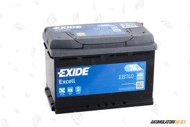 EXIDE 74Ah Excell