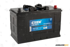 EXIDE 110Ah HD Professional Power